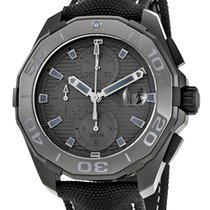 TAG Heuer Aquaracer Black Phantom Calibre 16  Chrono CAY218B.F...