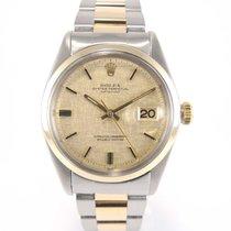 "Rolex Datejust Vintage 1600 ""smooth bezel"" ""linen..."