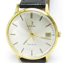 オメガ (Omega) Vintage Mechanical Movement Gents 18k. Yellow Gold...