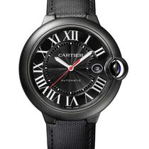 Cartier WSBB0015 Ballon Bleu de Cartier Carbon in Black ADLC...