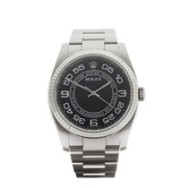 Rolex Oyster Perpetual Stainless Steel Gents 116034 - W3577