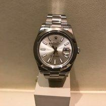 Rolex Datejust 41mm Ref. 116300 silver index dial+LAGERND+