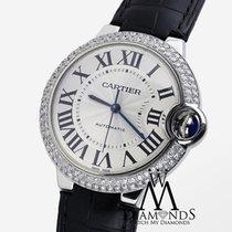 カルティエ (Cartier) Diamond Cartier Ballon Bleu 42mm W69012z4...
