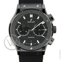Hublot Classic Fusion Chronograph Black Magic 45mm New-Full Set