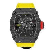 Richard Mille Rafael Nadal Signature Watch Black NTPT Carbon