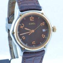 Ebel Herren Uhr 1911 Senior Quartz Stahl/gold 40mm Mit Leder...