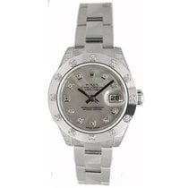 Rolex Datejust 179160 Lady's Steel New Heavy Style Oyster...