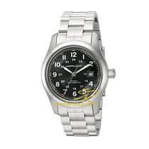 Hamilton KHAKI FIELD AUTO Black-Steel Bracelet 42mm H-70515137