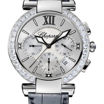 Chopard Imperiale Chrono Stainless Steel, Amethyst &...