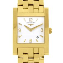Longines Ladies 18K Yellow Gold Quartz Watch L55036166