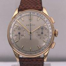 Zenith vintage PINK GOLD chronograph cal 146 D