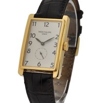 Patek Philippe 5009J Gondolo Mens 5009 - Yellow Gold on Strap...