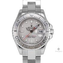 Rolex Yacht-Master Steel and Platinum Platinum Dial Platinum...