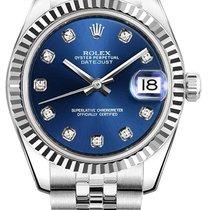 Rolex Datejust, Ref. 178274 - blau Diamant ZB/Jubileeband