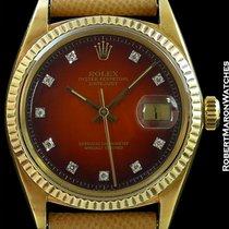 Rolex 1601 18k Datejust Stratocaster Vignette Dial Exceptional
