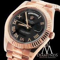 Ρολεξ (Rolex) Presidential Rolex Day-date Ii 218235 Black Dial...