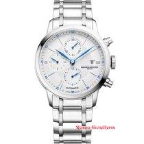 Baume & Mercier Classima Cronografo 42 mm Quadrante Bianco