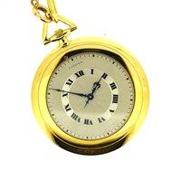 까르띠에 (Cartier) Very rare Cartier Ultra thin pocket watch art...