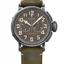 Zenith Pilot Type 20 Chronograph Ton-Up Stainless Steel...