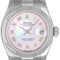 Rolex Ladies Rolex President 18k White Gold Unused Watch 179179