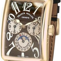 Franck Muller 1350 Master Banker Automatic Watch With Black Dial
