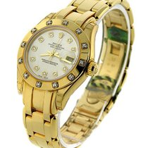 Rolex Unworn 80318 Ladys Masterpeice in Yellow Gold with 12...