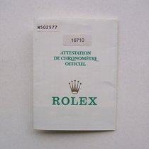 Rolex Libretto / Booklet per Gmt-Master 16710