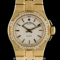 Vacheron Constantin 18k Y/G Diamond Bezel Overseas Ladies...