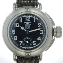 Elgin Mans Military Divers Wristwatch  Depollier
