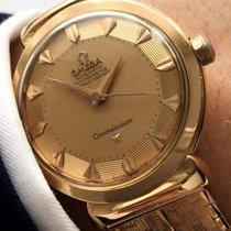 Omega Constellation Automatik Grand Lux Pie Pan rosegold 18karat