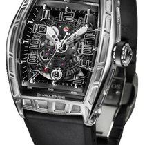 Cvstos Challenge Jet-Liner SL Men's Watch, Steel, Black...