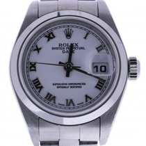 Rolex Date 79160 26 Mm White Dial