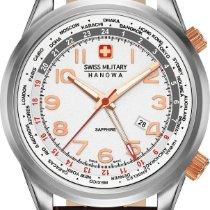 Hanowa Swiss Military WORLDTIMER 06-4293.04.001 Herrenarmbandu...