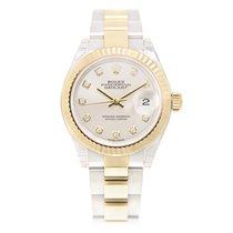 勞力士 (Rolex) Lady Datejust Gold And Steel Silver Automatic...