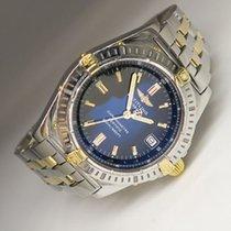 Breitling Callisto Damen Quarz Uhr in Stahl/Gold mit Box +...