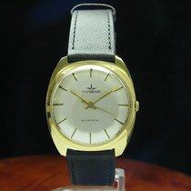 Dugena 14kt 585 Gold Gelbgold Automatic Herrenuhr / Kaliber...