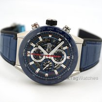 TAG Heuer Automatic Carrera Calibre Heuer 01 Skeleton Blue