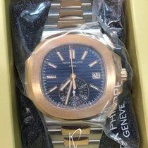 Patek Philippe 5980/1AR - Steel & Rose Gold Nautilus