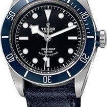튜더 (Tudor) Heritage Black Bay Stainless Steel - Aged Leather