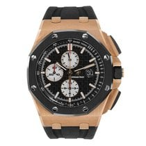 Audemars Piguet AP Offshore Chronograph 44mm Rose Gold Rubber...