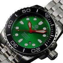 Deep Blue Sea Ram 500 Auto Diving Watch Wr 500m Black Bezel...
