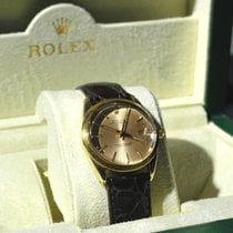 Rolex 1550 Gold Shell  Oyster Perpetual Date