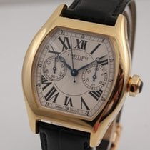 Cartier Tortue Monopoussoir Chronograph Rotgold