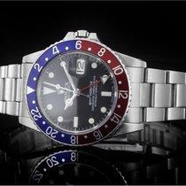 Rolex GMT-Master (40mm) Ref.: 16750 Schwarz mit Plexiglas aus...