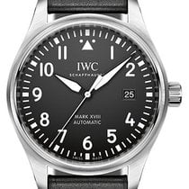 IWC Pilot's Watch Mark XVIII Stainless Steel On Strap