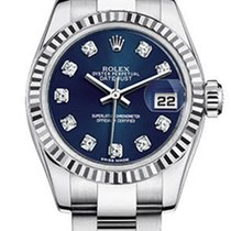 Rolex Women's New Style Steel Datejust Oyster Band  with...