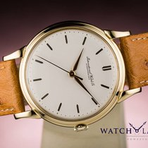 IWC SCHAFFHAUSEN VINTAGE CLASSIC GOLD - RARE PIECE FROM 1955