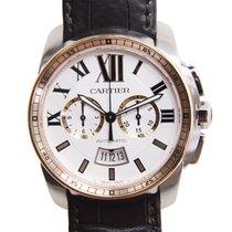 Cartier Calibre De Cartier Stainless Steel White Automatic...