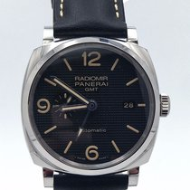 Panerai Radiomir 1940 Pam 627 45mm Gmt Automatic Complete Set