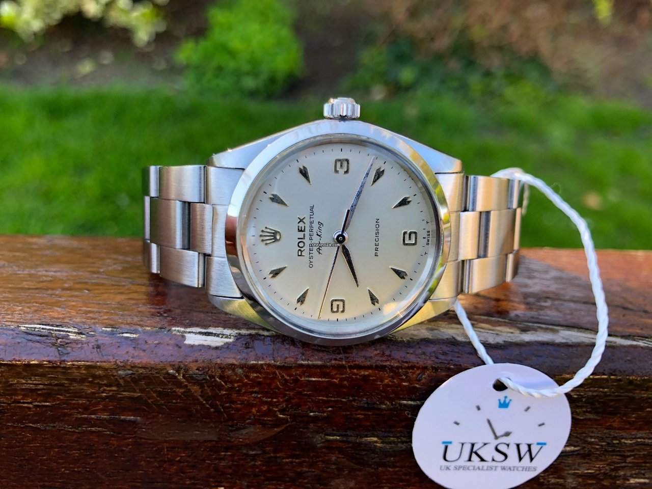 Rolex Air King 5500 3-6-9 - Arrow Head Dial - Vintage 1965 for $5,128 for  sale from a Trusted Seller on Chrono24